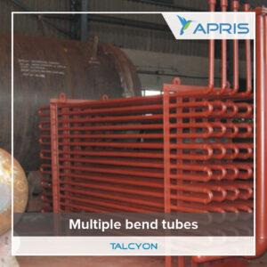 multiple bend tubes