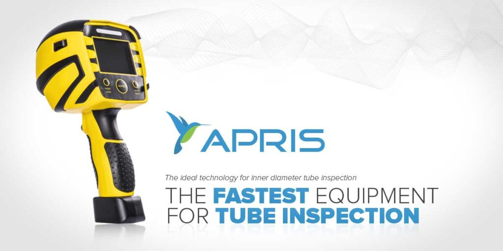 apris is the fastest tube inspection tool